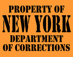 New York Department of Corrections T-Shirt