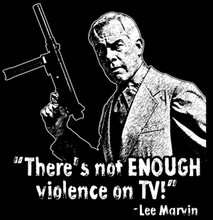 Violence on TV T-Shirt