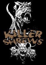 Killer Shrews T-Shirt by Jason Dube