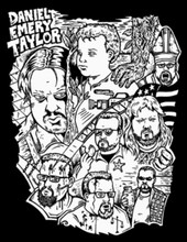 Many Faces of Daniel Emery Taylor T-Shirt