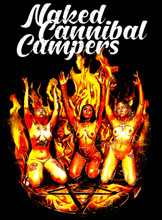 Naked Cannibal Campers T-Shirt