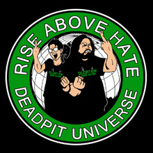 Deadpit: Rise Above Hate T-Shirt