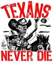 Texans Never Die Raglan