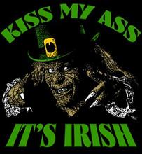 Kiss My Irish Ass T-Shirt