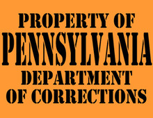 Pennsylvania Department of Corrections T-Shirt