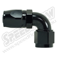 Speedflow 90 Degree Hose Ends - 103-06 to 103-12 - Black Anodising