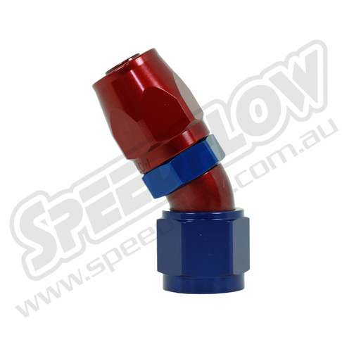 Speedflow 30 Degree Hose Ends - 107-06 to 107-12