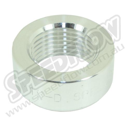 Aluminium M18 O2 Sensor Weld Bung - great for turbo compressors!