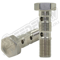 "3/8""-24 Double Banjo Bolts for 10mm Banjo"
