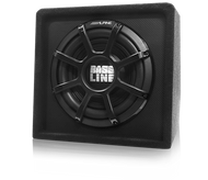 "Alpine SBL-S12S4 Bassline 12"" Single Subwoofer Enclosure"