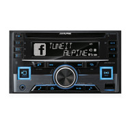 Alpine CDE-W265EBT 2-DIN CD Receiver with Bluetooth