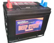 Neuton Power 80A/H Automotive Deep Cycle Starting Battery - 1 Year Warranty
