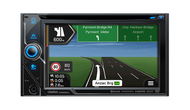 """Clarion NX606AU 6.2"""" 2-DIN DVD Multimedia Station with Navigation"""