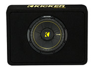 "Kicker TCWC102 10"" CompC 2ohm Subwoofer Enclosure"