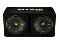 "Kicker DCWC122 Dual 12"" CompC 2 Ohm Enclosure"