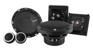 "Rockford Fosgate T1650-S Power 6.50"" 2-Way Euro Fit Compatible Component System"