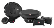 "Rockford Fosgate P165-SE Punch 6.5"" 2-Way Euro Fit Compatible System External Xover"