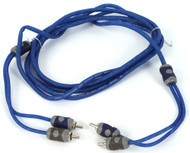 Kicker KI23 2-Channel K-Series RCA Audio Interconnect Cable