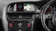 Alpine  Premium Infotainment System for Audi A4