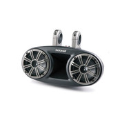 "Kicker KMT674 6-3/4"" 3-Way KM Series Coaxial Marine Speakers"