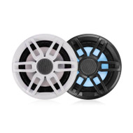 "Fusion  XS-FL65SPGW Series 6.5"" RGB Lighting Speaker pair - with Sports White & Grey Grills - 200WW,Fusion,6.5"""