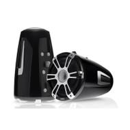 "Fusion  SG-FT88SPC 8.8"" Tower Speaker Pair - Grey / Chrome"