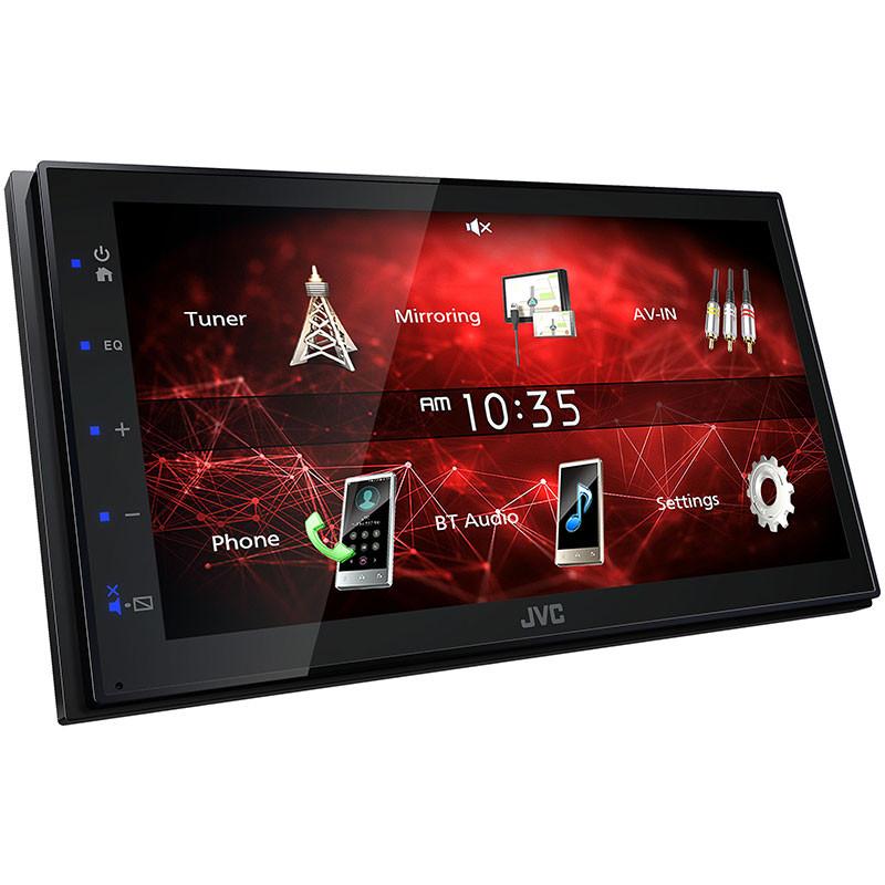 JVC KW-M150BT 2-Din Media Receiver with USB Smart Phone