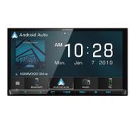 "Kenwood DMX8019S Android Auto & Apple CarPlay AV Receiver 7"" Bonus reverse camera"