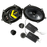 Kicker CSS684 CS-Series 6x8-inch Component Speakers