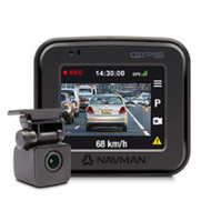 Navman FOCUS400 DUAL dash camera