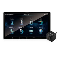 "Alpine iXE-W400E + HCE-205RD 7"" Mobile Media Unit with Multi-View Reverse Camera System"