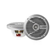 """Alpine SPS-M601 6 1/2"""" Coaxial 2-Way silver marine speaker"""