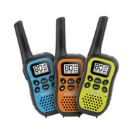 Uniden UH45-3 80 Channel UHF CB Hand Held triple colour pack