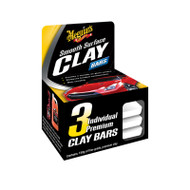 Meguiars Smooth Surface Clay Bars - 3 Pack G1117