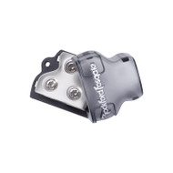 Rockford Fosgate RFD4 4 AWG distribution block with 1 in 3 out
