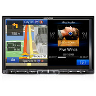 "Alpine X008AU 8"" DVD//USB/HDMI/Bluetooth Advanced Navi Station"