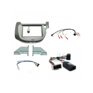 Aerpro FP8075K Double din grey install kit to suit Honda Jazz GE