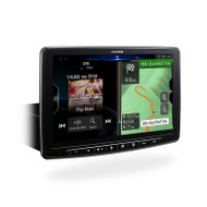 Alpine INEF409E 9inch Built-In Navigation CarPlay Android Auto BT DAB+ Receiver