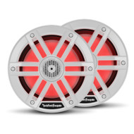 "Rockford Fosgate M1 6.5"" Color Optix Marine 2-Way Speakers - White"