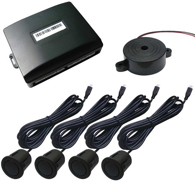 STRIKE BLACK REVERSING SENSORS CAR REVERSE PARKING AUDIO SYSTEM