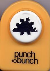 Dinosaur Stegasaurus Small Punch