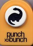 Dinosaur Brontosaurus Small Punch