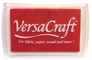 Poppy Red VersaCraft Ink Pad