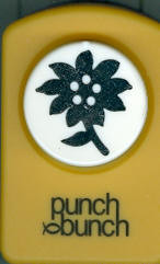 Flower #4 Silhouette Punch