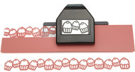 Cupcake Chain Edger Slim Line Punch