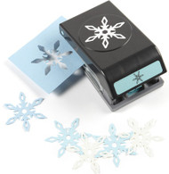 Angular Snowflake Garland Slim Line Punch