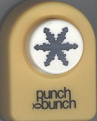 Crystal Snowflake Small Punch