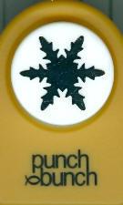 Alta Snowflake Medium Punch