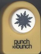 Alpine Snowflake Small Punch
