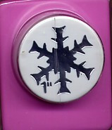 "1"" Snowflake Punch"